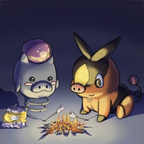 pokemon memes pigs fan art
