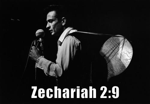 Zechariah 2:9