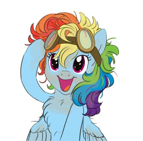 goggles ppe rainbow dash - 8547155968