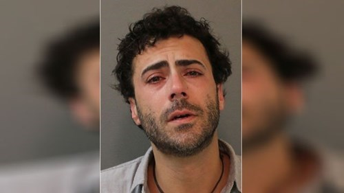 This creep gave a wet willy to a stranger's four-year-old.