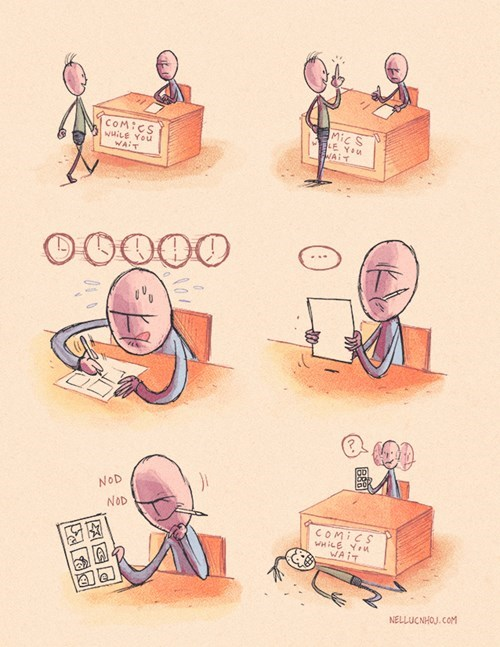 funny-web-comics-getting-lost-in-your-work