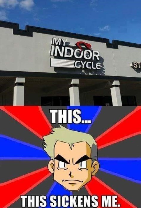 pokemon memes professor oak indoor cycle
