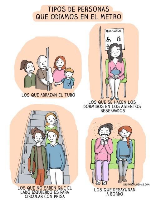 odias el metro