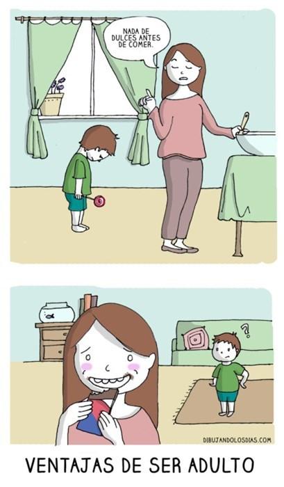 adultos como ninos