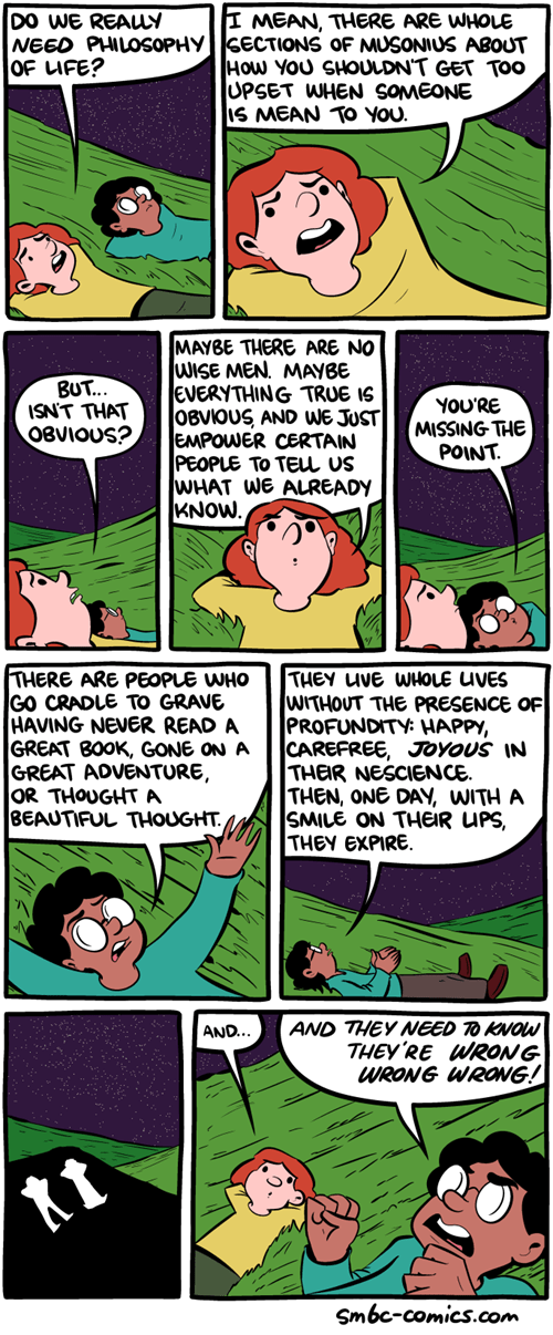 sad but true philosophy web comics