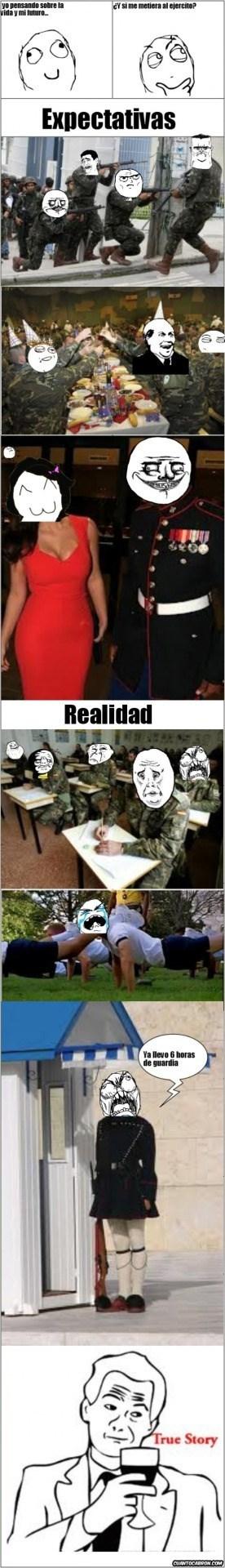 vida militar