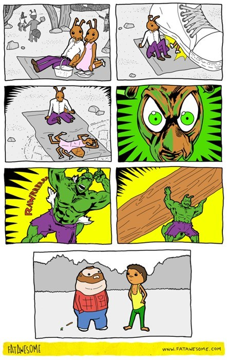 Antman y hulk