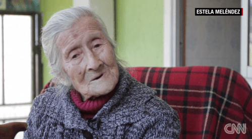 91-year-old Chilean woman has a calcified fetus inside of her.