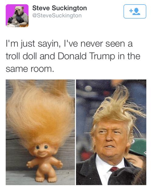 funny memes trump troll doll