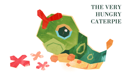 pokemon memes very hungry caterpie