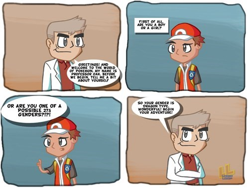 pokemon memes professor oak non binary