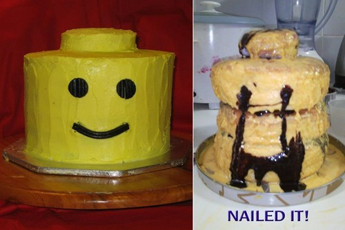 cake FAIL lego Nailed It - 8548166144