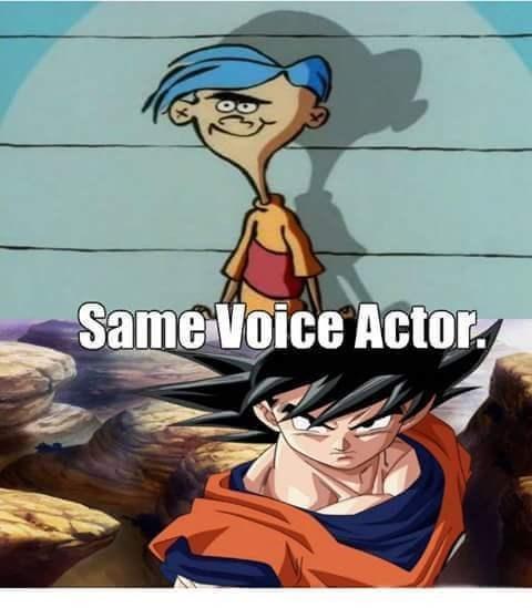 ed edd n eddy Dragon Ball Z voice actors - 8548729600