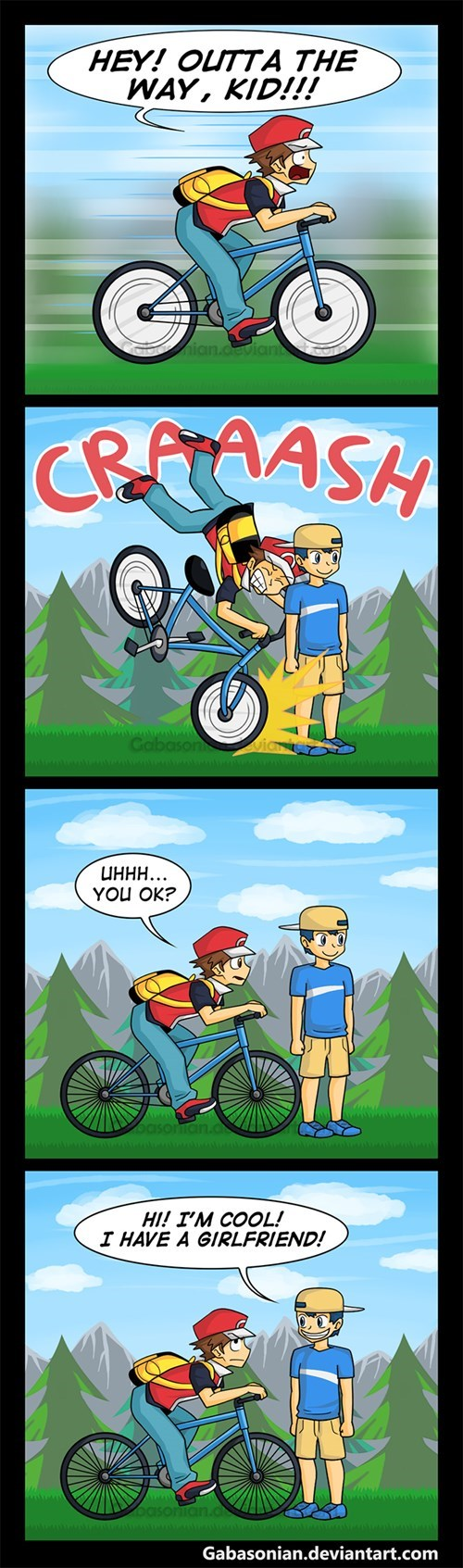 pokemon memes bicycles