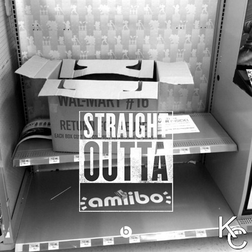 straight outta somewhere amiibo - 8549036544