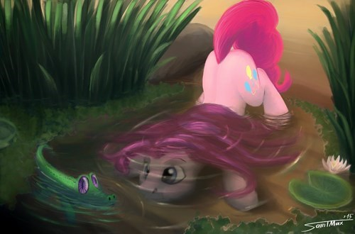 Fan Art,cute,pinkie pie,gummy