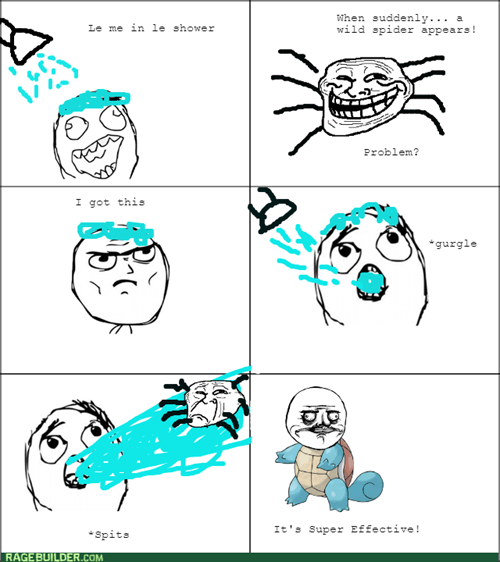 spit spider squirtle shower super effective - 8549126400