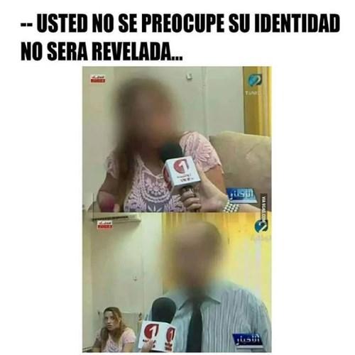 identidad no revelada