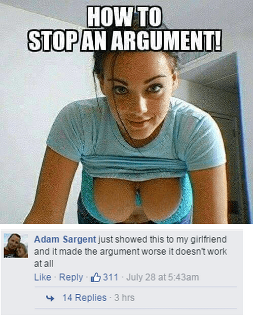 How to Stop (Some) Arguments