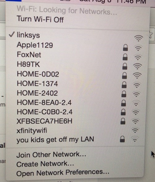 How Old People Label Their Networks