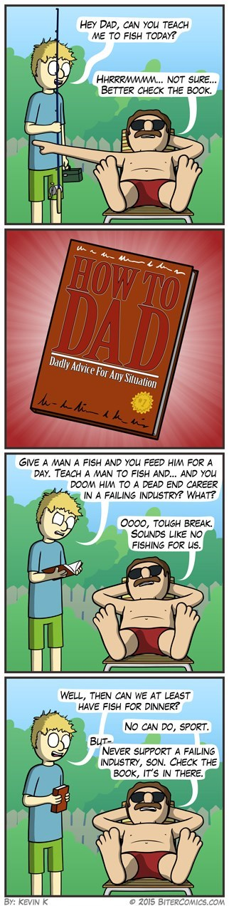 dads,sad but true,dad but true,fish,web comics
