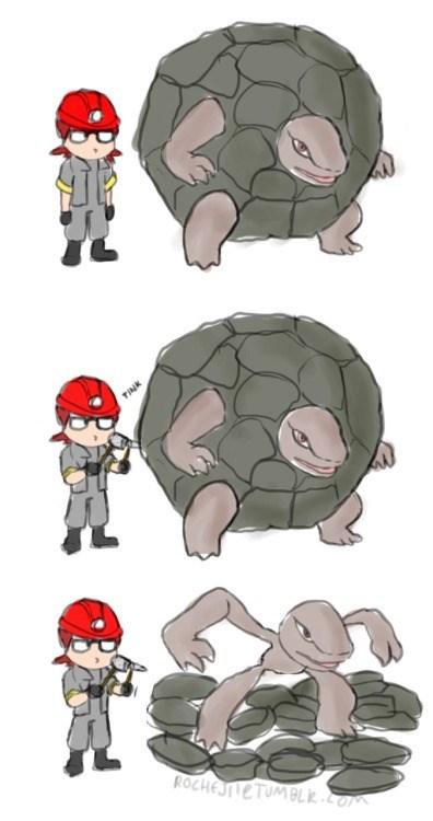 pokemon memes golem fan art