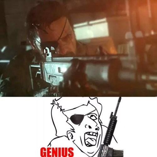genio nivel metal gear solid