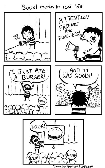 sad but true likes social media burgers web comics - 8550581248