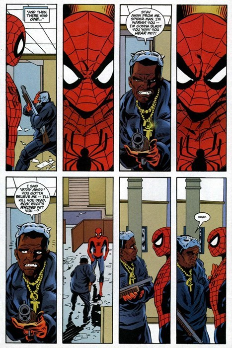 superheroes-spider-man-marvel-stare-down-comic-panel