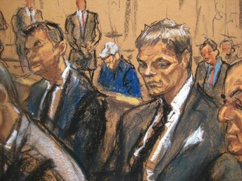 Tom Brady's courtroom sketch gets the meme treatment.