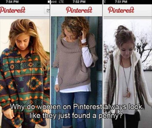funny memes pinterest girls found a penny