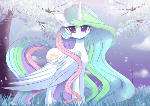 cute princess celestia notice me senpai - 8550992128