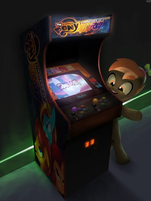 arcade,button,Fan Art