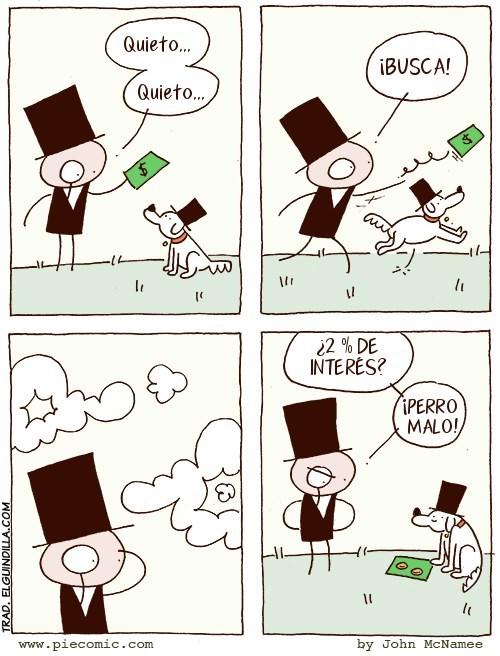 perro de banquero