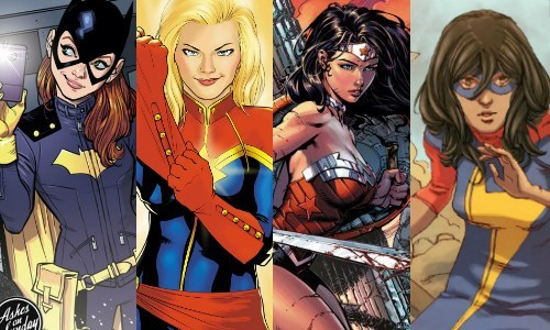 superheroes-ladies-in-comic-books-marvel-dc