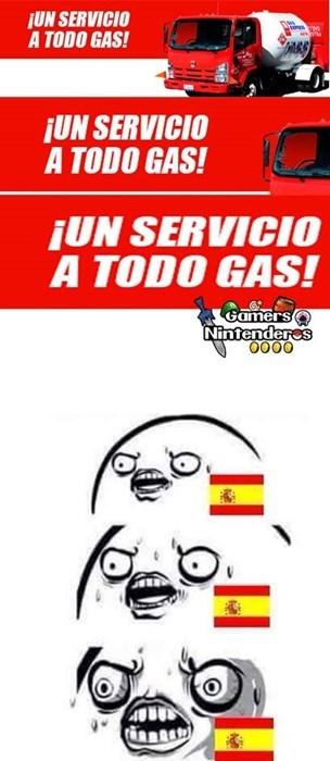 a todo gas