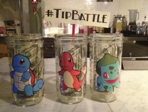 Pokémon IRL tipping - 8551406592
