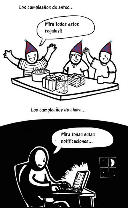 cumpleaños de antes