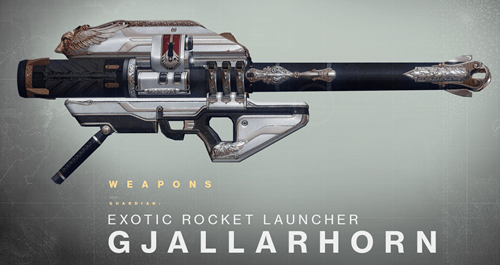 Xur sells gjallarhorn and Destiny players lose it.