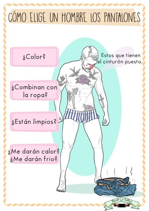 elegir pantalón