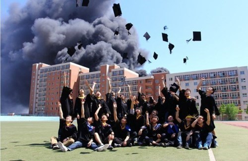 school-fails-the-graduation-celebration-was-booming