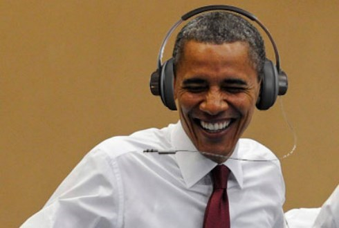 President Obama's spotify playlist is ready for your ears.