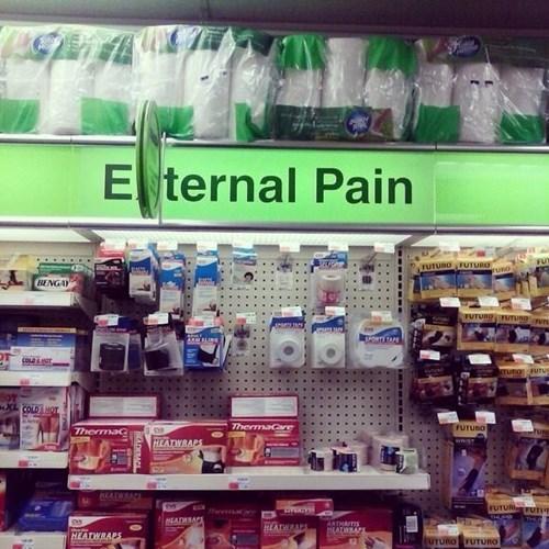funny memes eternal pain sign