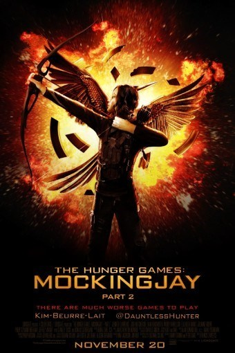 The Hunger Games has a social media poster problem.
