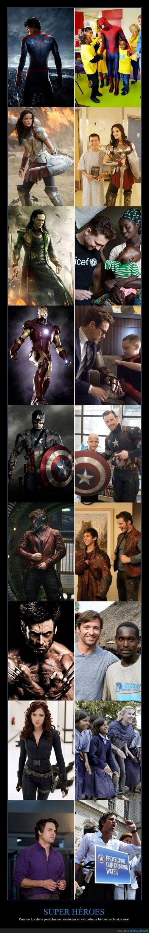 no todos los heroes usan capa