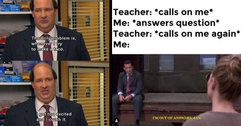 funny memes from the office show