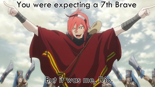 anime rokka no yuusha it was me dio - 8552589824