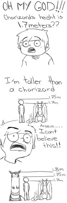 pokemon memes taller than charizard