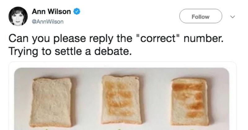 arguing twitter debate social media ridiculous toast food funny - 8553221