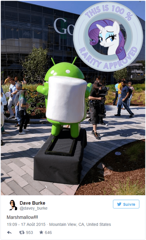 android marshmallow rarity - 8553462272
